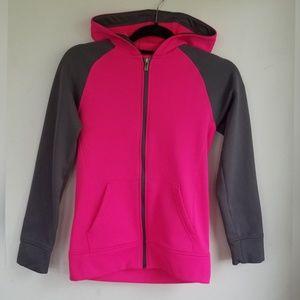 Girls Adidas Hooded Sweatshirt